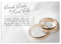 Svadobné oznámenia 3